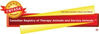 the Canadian Registry of Therapy Animals and Service Animals